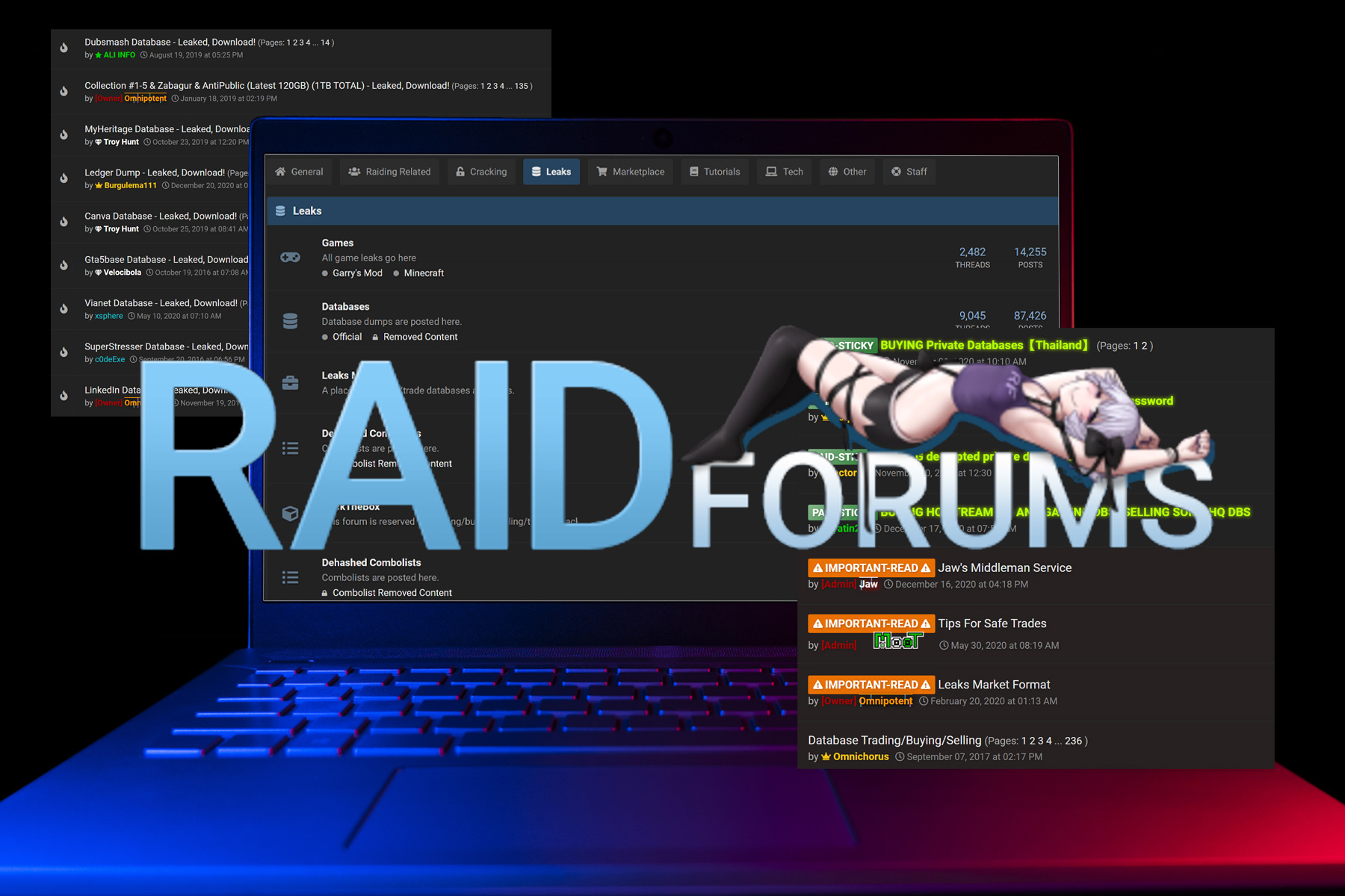 What It's Like to Run a Hacking Forum: A Conversation With RaidForums Owner  Omnipotent