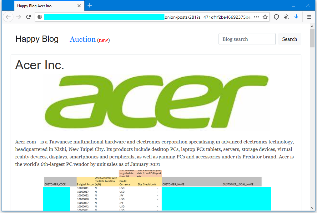 Acer-leak-page
