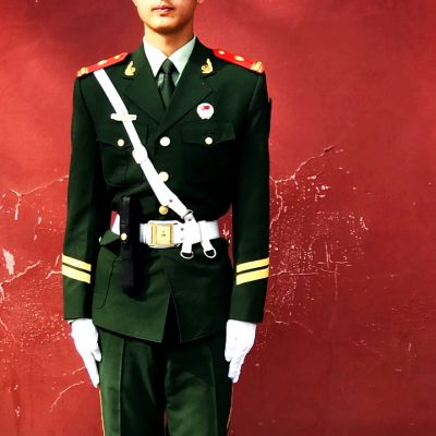 China soldier PLA