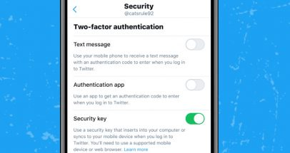 Twitter lets users disable SMS 2FA and use only security keys